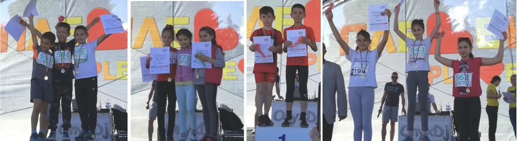 CHILDREN MARATHON WINNERS