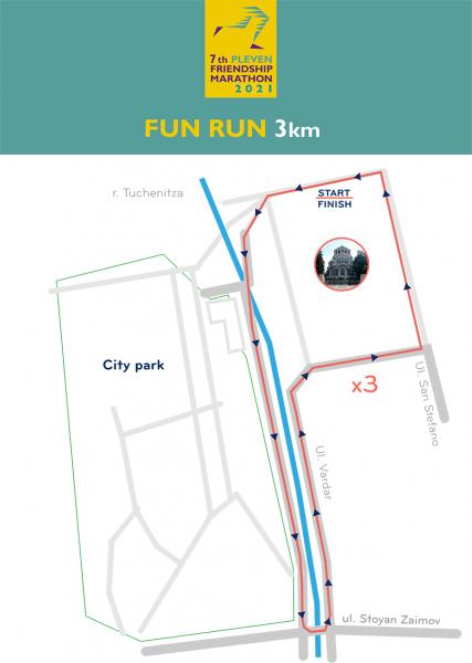 Map 3 km