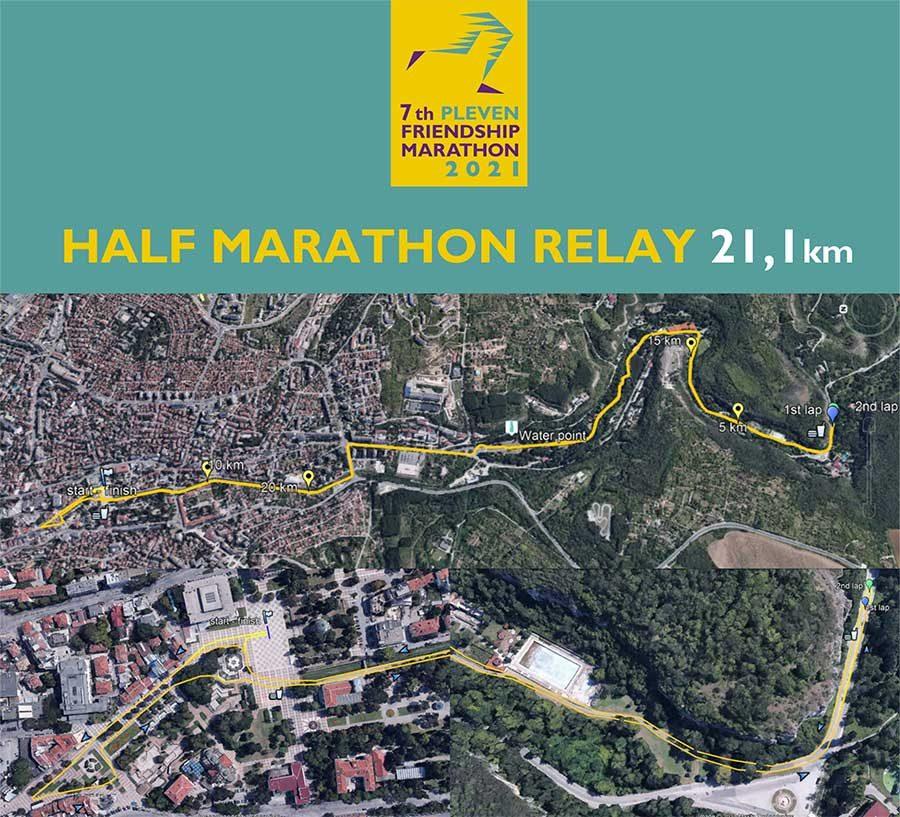 map half marathon