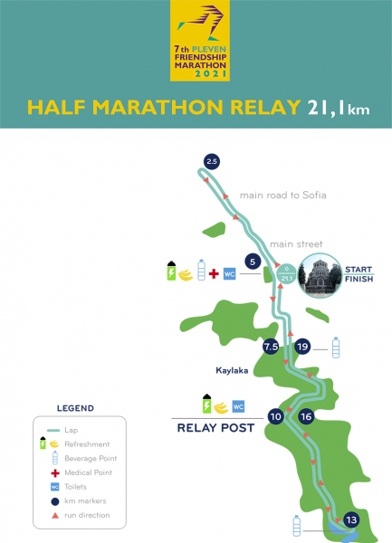 map halfmarathon